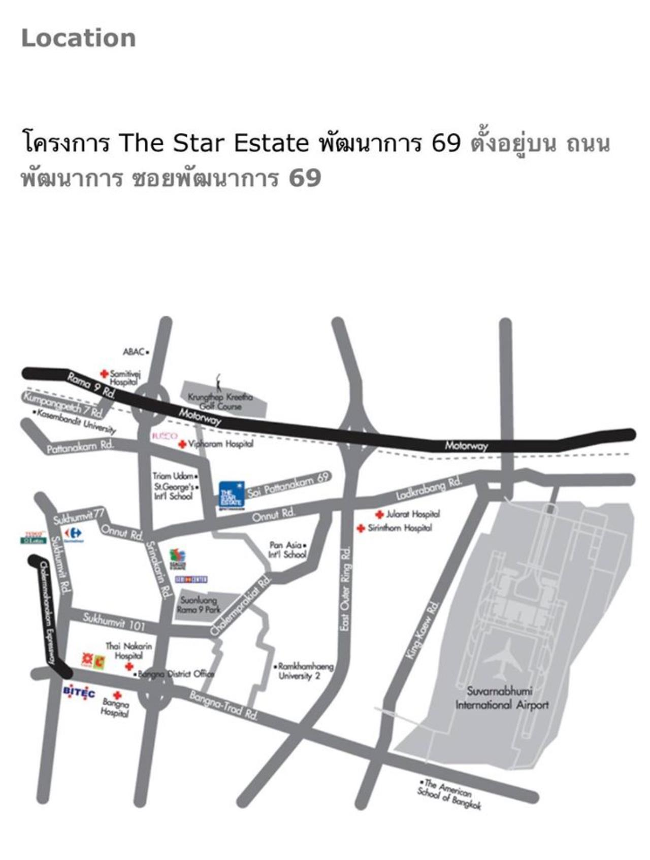 Agent - Natchga Boonkrong  Agency's House 5 Bedrooms for RENT in Suan Laung Phatthanakarn Bangkok 7