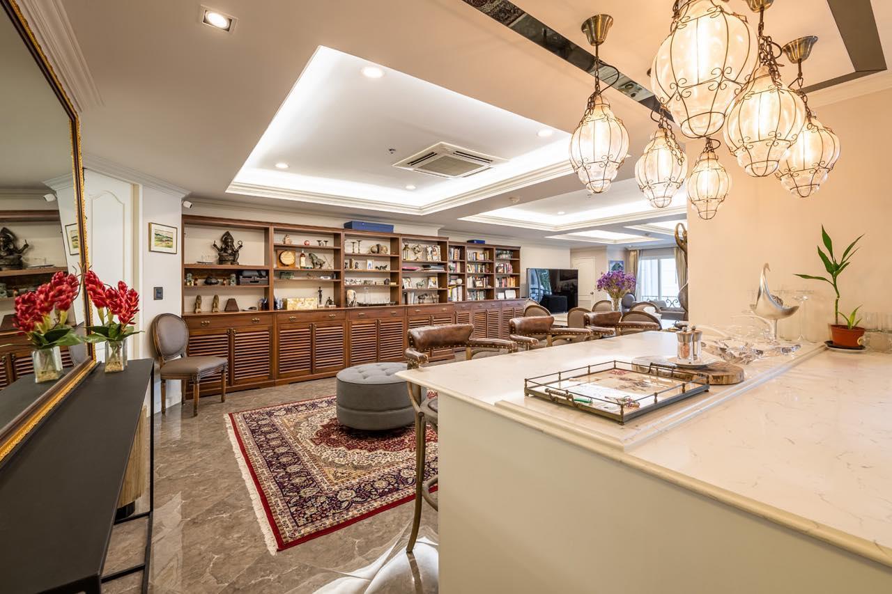 Agent - Natchga Boonkrong  Agency's For Rent La Vie En Rose 3 Bedrooms Luxury Decor Sukhumvit 36 4