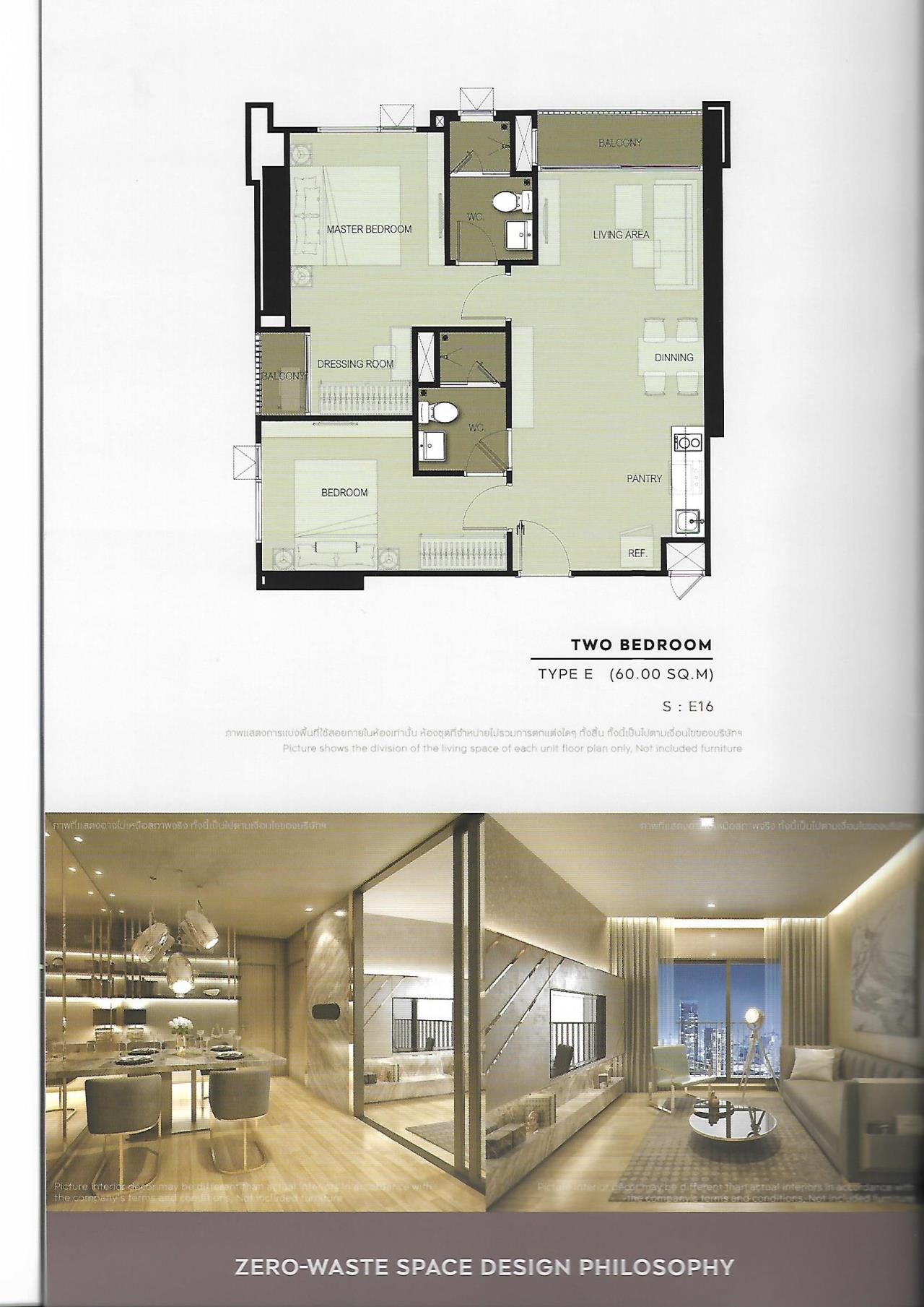 Landscope Thailand Agency's Life Sukhumvit 48 2-bedroom for sale 5