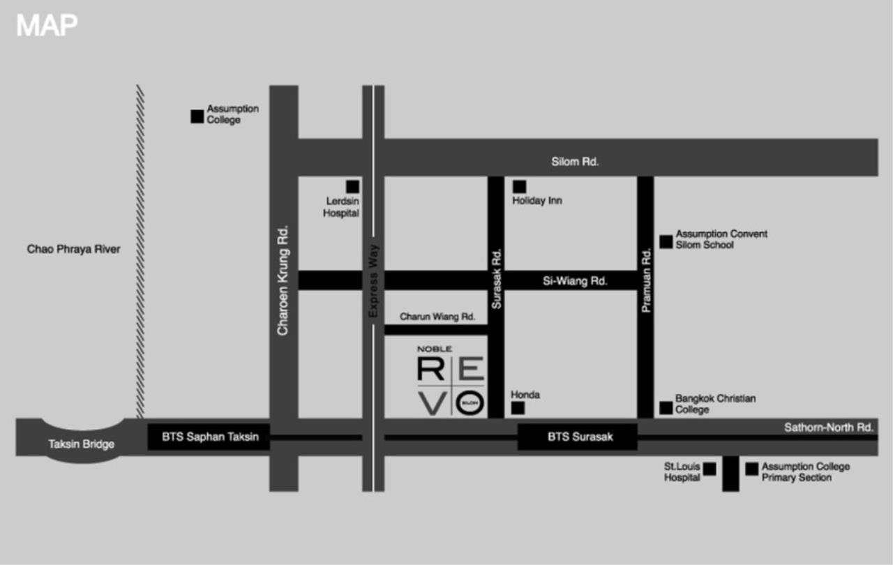 Landscope Thailand Agency's Noble Revo Silom 2-bedroom/2-bathroom on 18th floor 4