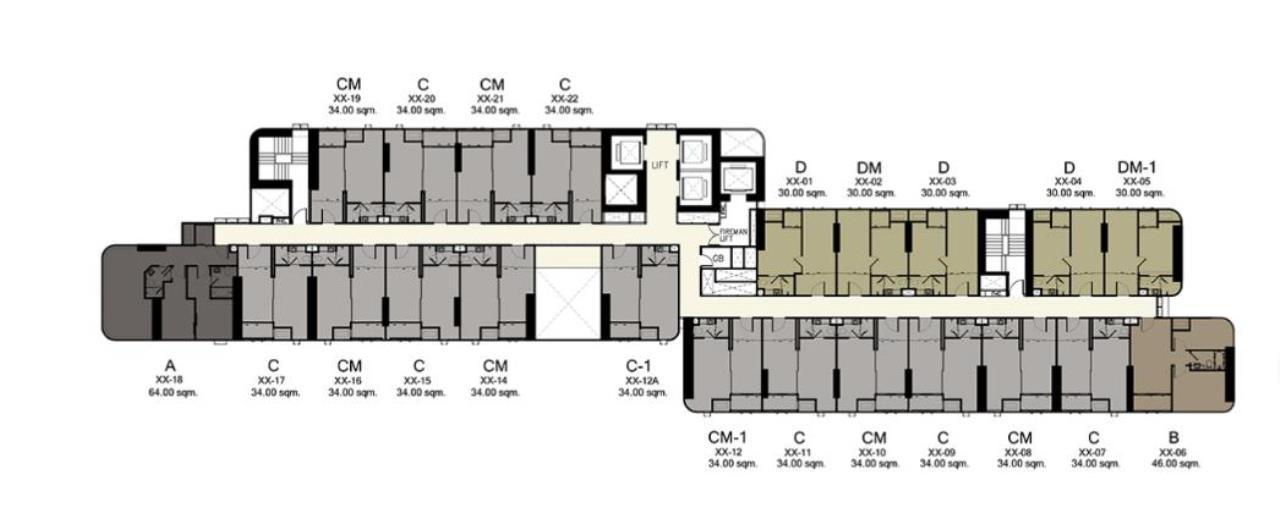 Landscope Thailand Agency's Ashton Asoke 41st floor 34.5 sq.m. 1-bedroom for sale 3