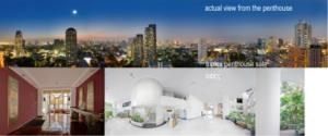 BKK Condos Agency's 6 bedroom triplex penthouse for sale at Moon Tower  1
