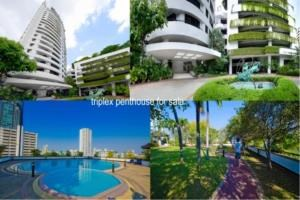 BKK Condos Agency's 6 bedroom triplex penthouse for sale at Moon Tower  5