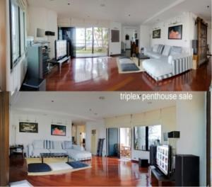 BKK Condos Agency's 6 bedroom triplex penthouse for sale at Moon Tower  6