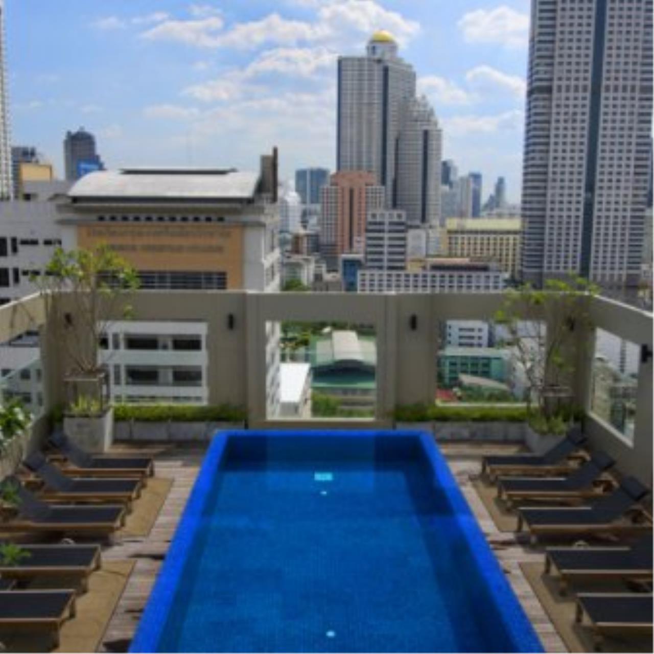 BKK Condos Agency's Fabulous 4 bedroom apartments for rental, 1 unit per floor, at Panburi, Silom 8