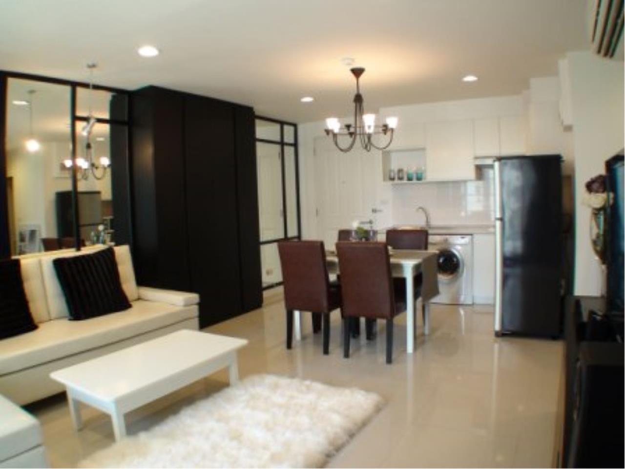 BKK Condos Agency's Elegant and modern 2 bedroom condo for rent at The Clover Thonglor  8