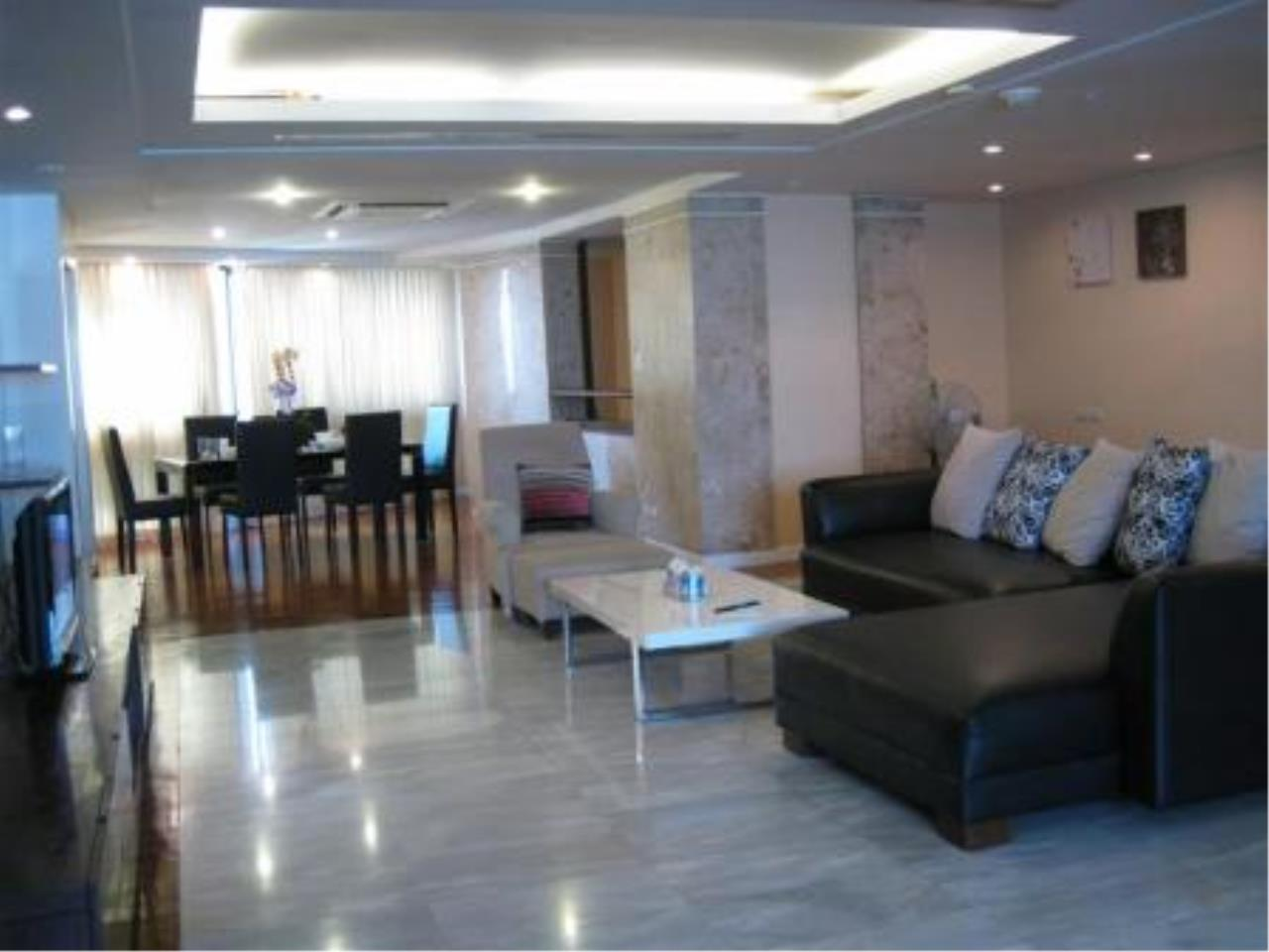 BKK Condos Agency's Beautiful 3 bedroom condo for rent at President Park 10