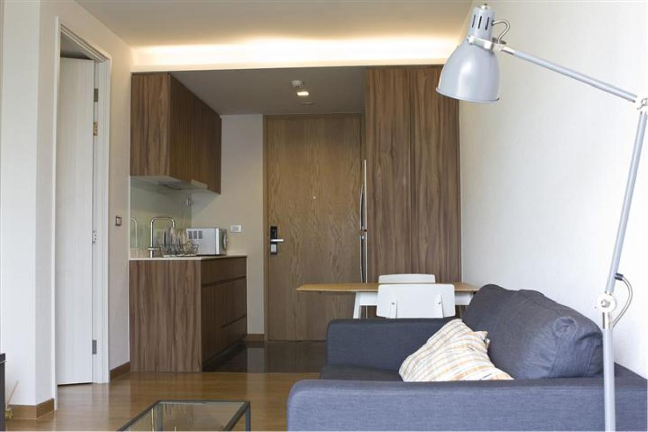 BKK Condos Agency's Fantastic 1 bedroom condo for rent at Via 31 7