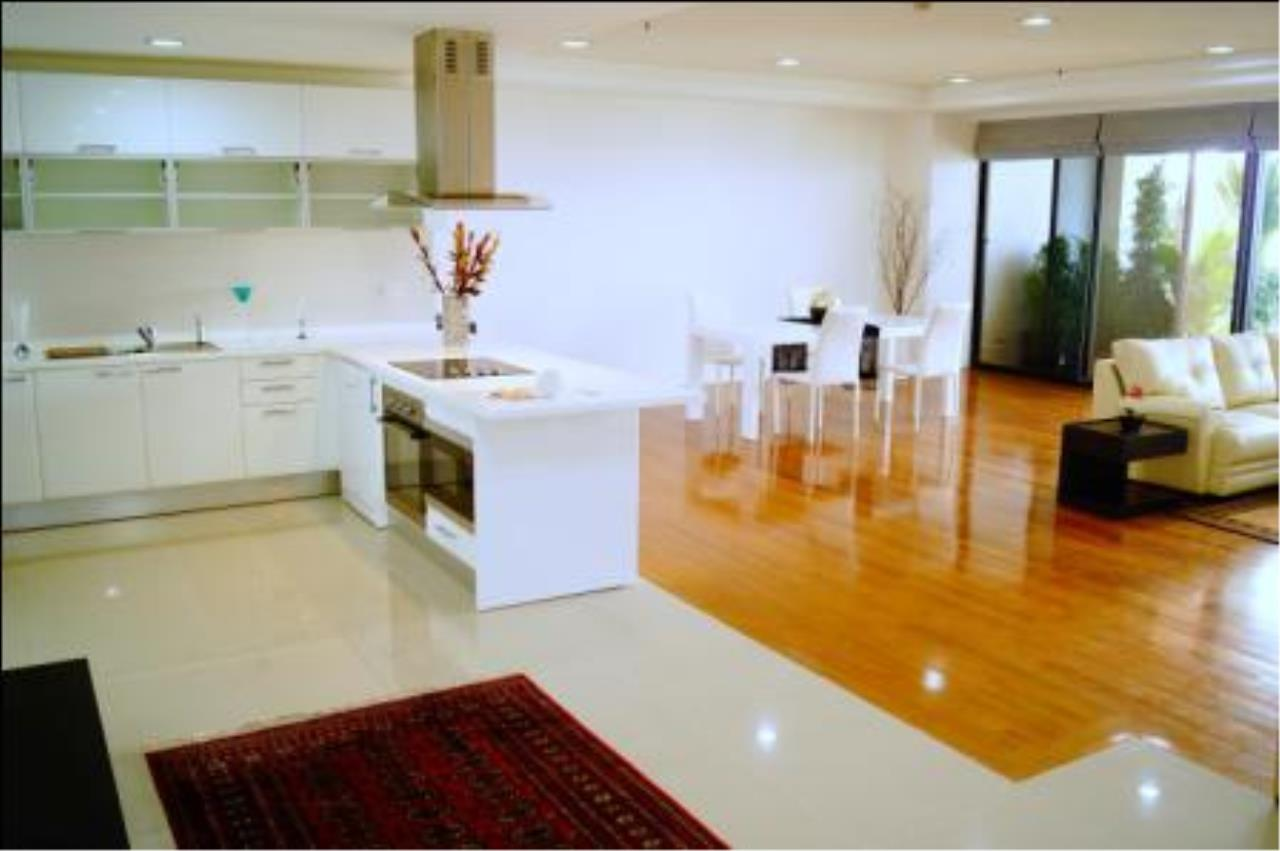 BKK Condos Agency's 3 bedroom condo for rent at Polo Park Condominium 1
