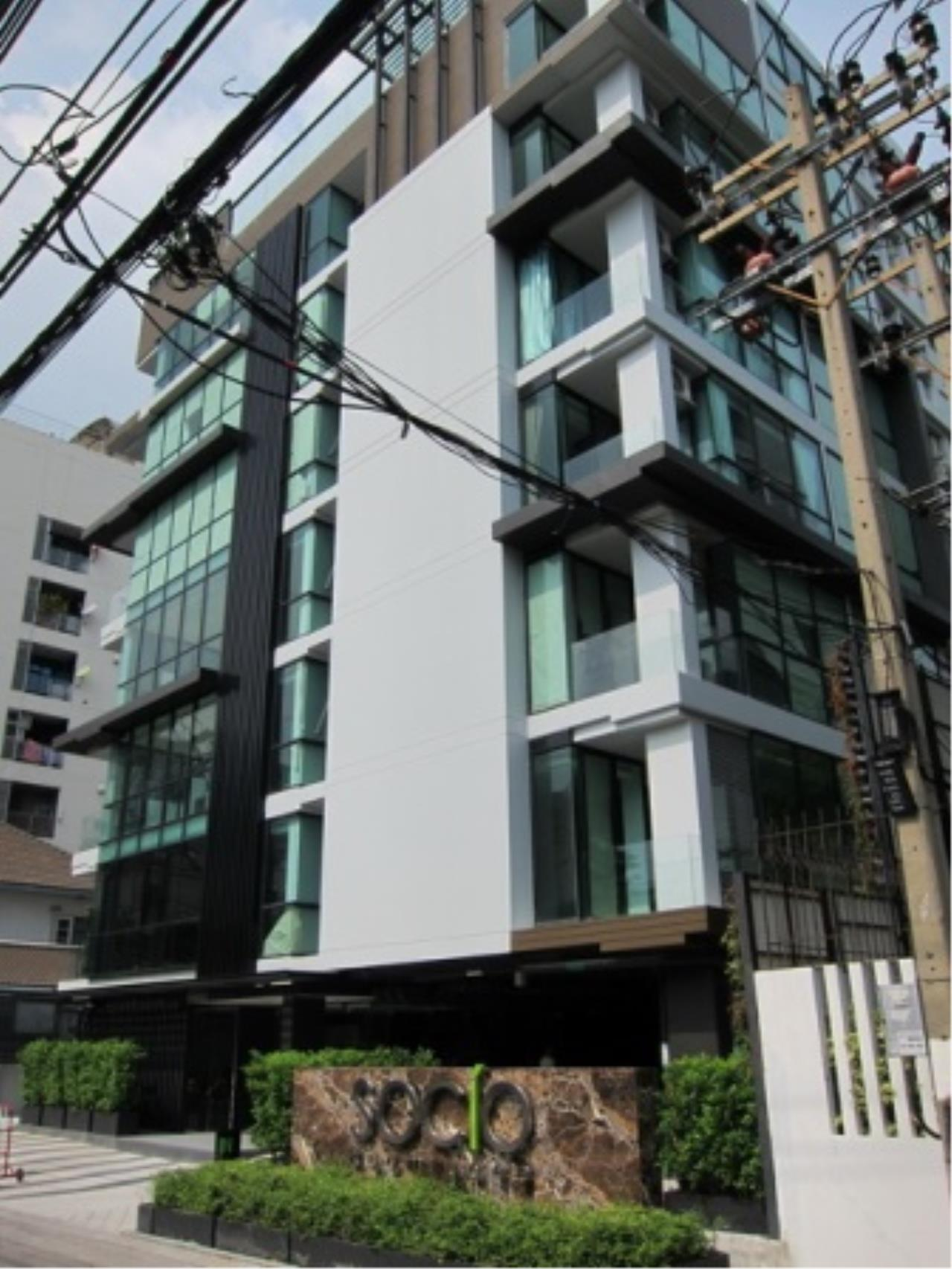 BKK Condos Agency's 1 bedroom condo for sale and for rent at Socio Ruamrudee 10