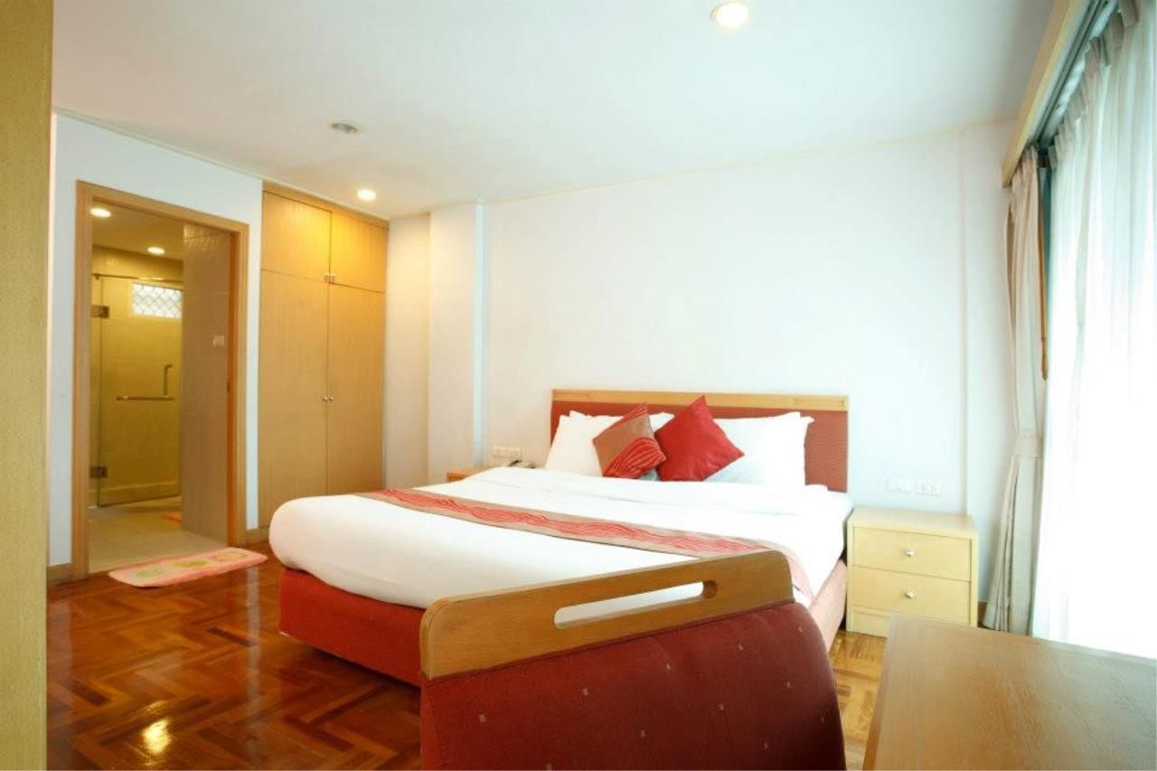 BKK Condos Agency's Studio serviced apartment for rent at Chaidee Mansion 2