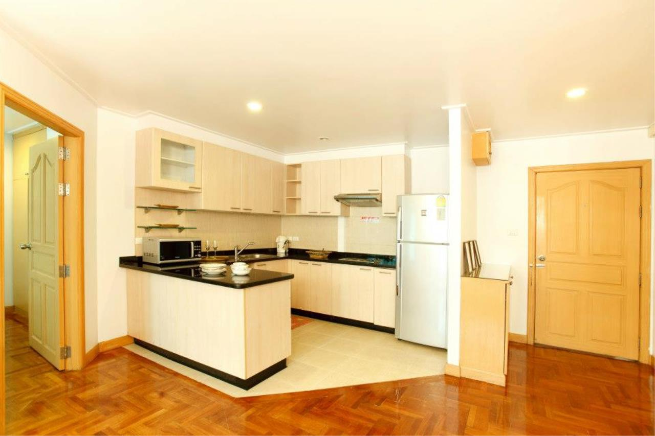 BKK Condos Agency's 1 bedroom serviced apartment for rent at Chaidee Mansion 2