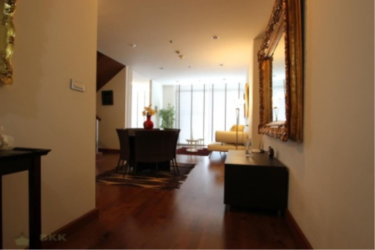 BKK Condos Agency's Classically modern 2+1 duplex condo for sale or rent at Master Centrium 17