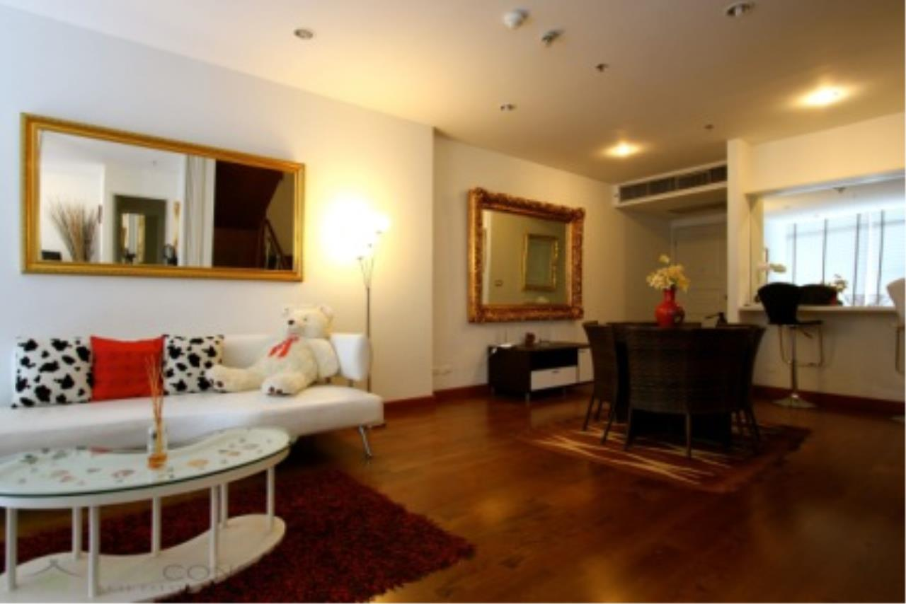 BKK Condos Agency's Classically modern 2+1 duplex condo for sale or rent at Master Centrium 15