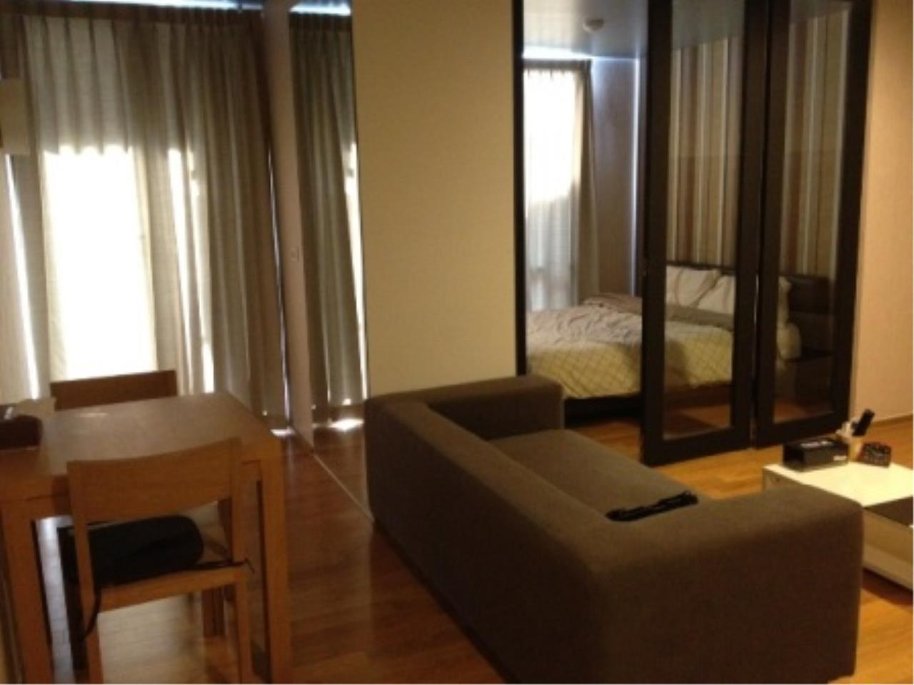 BKK Condos Agency's Nice one bedroom condo for rent at The Tempo Ruamrudee 1