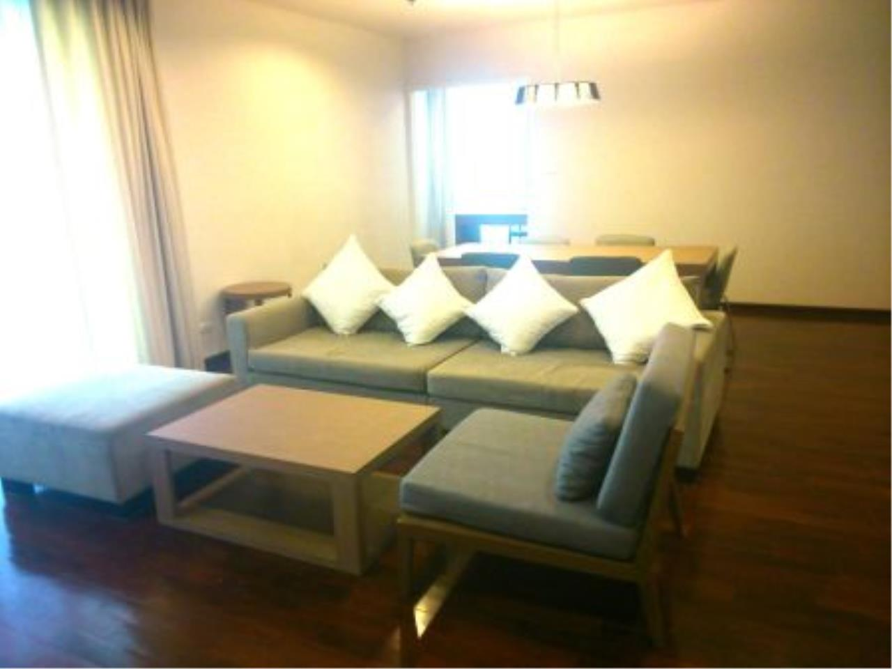 BKK Condos Agency's Nice 2 bedroom with large balcony for rent at 31 Residence  6