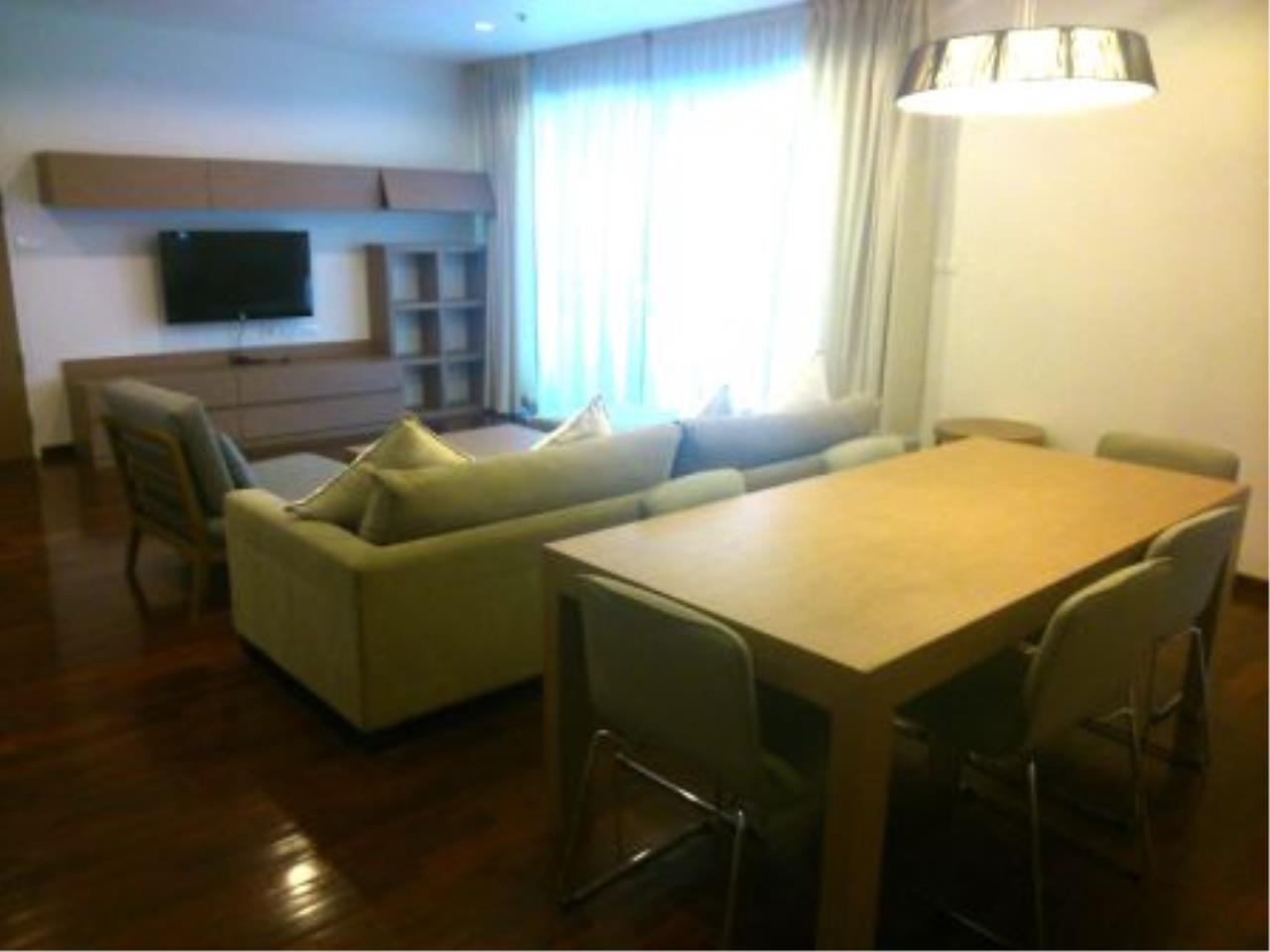 BKK Condos Agency's Nice 2 bedroom with large balcony for rent at 31 Residence  5