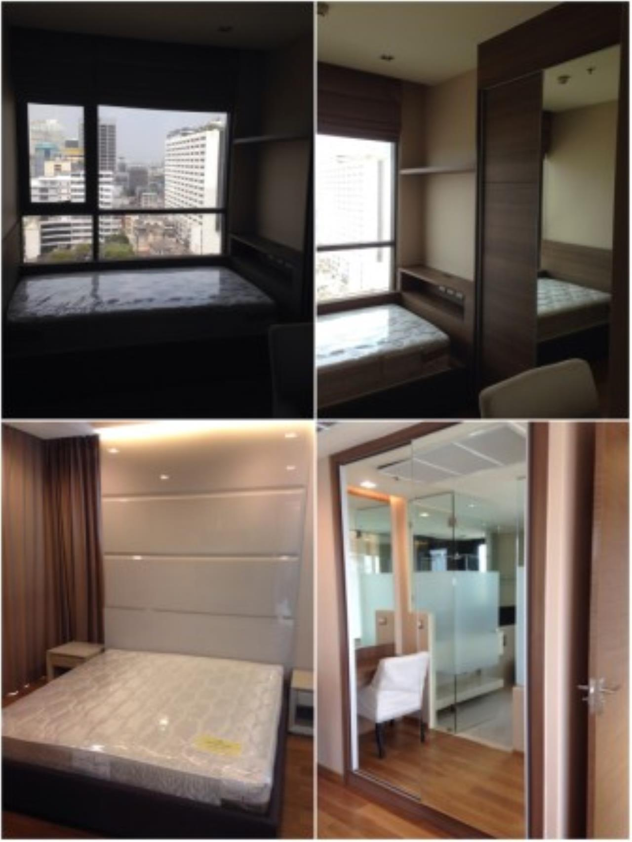 BKK Condos Agency's Nice 2 bedroom condo for rent at The Address Sathorn 7