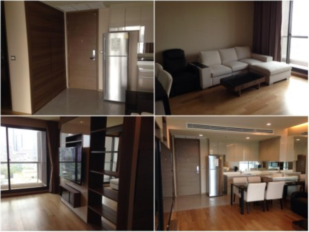 BKK Condos Agency's Nice 2 bedroom condo for rent at The Address Sathorn 4