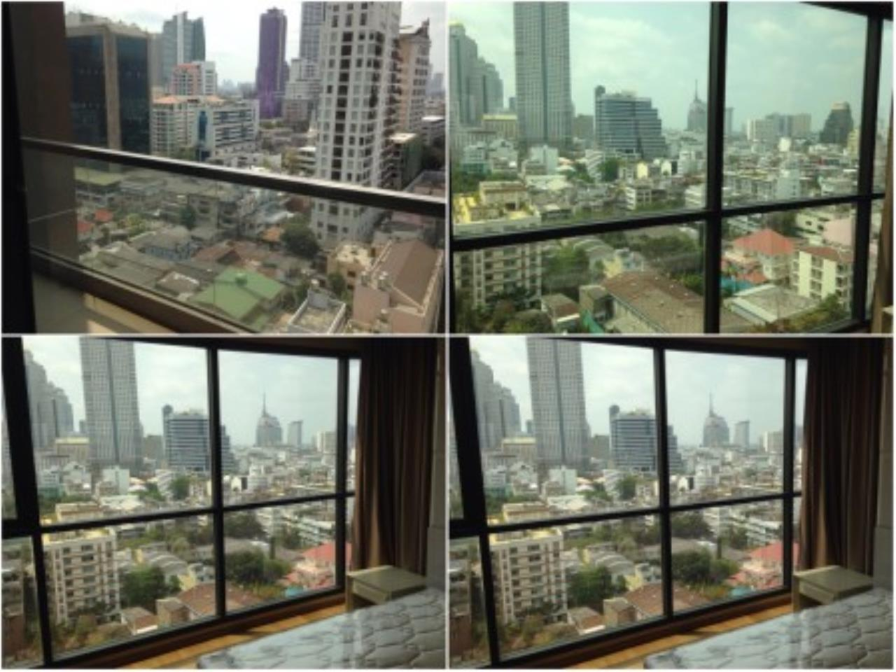 BKK Condos Agency's Nice 2 bedroom condo for rent at The Address Sathorn 3