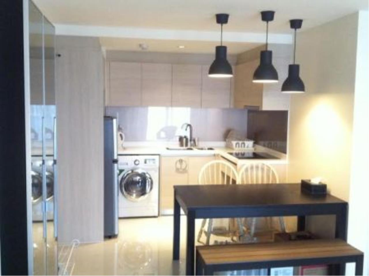 BKK Condos Agency's Corner unit two bedroom condo for rent at Socio reference 61  1