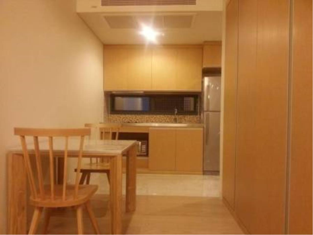 BKK Condos Agency's Modern style one bedroom condo for rent at Siamese Gioia 8