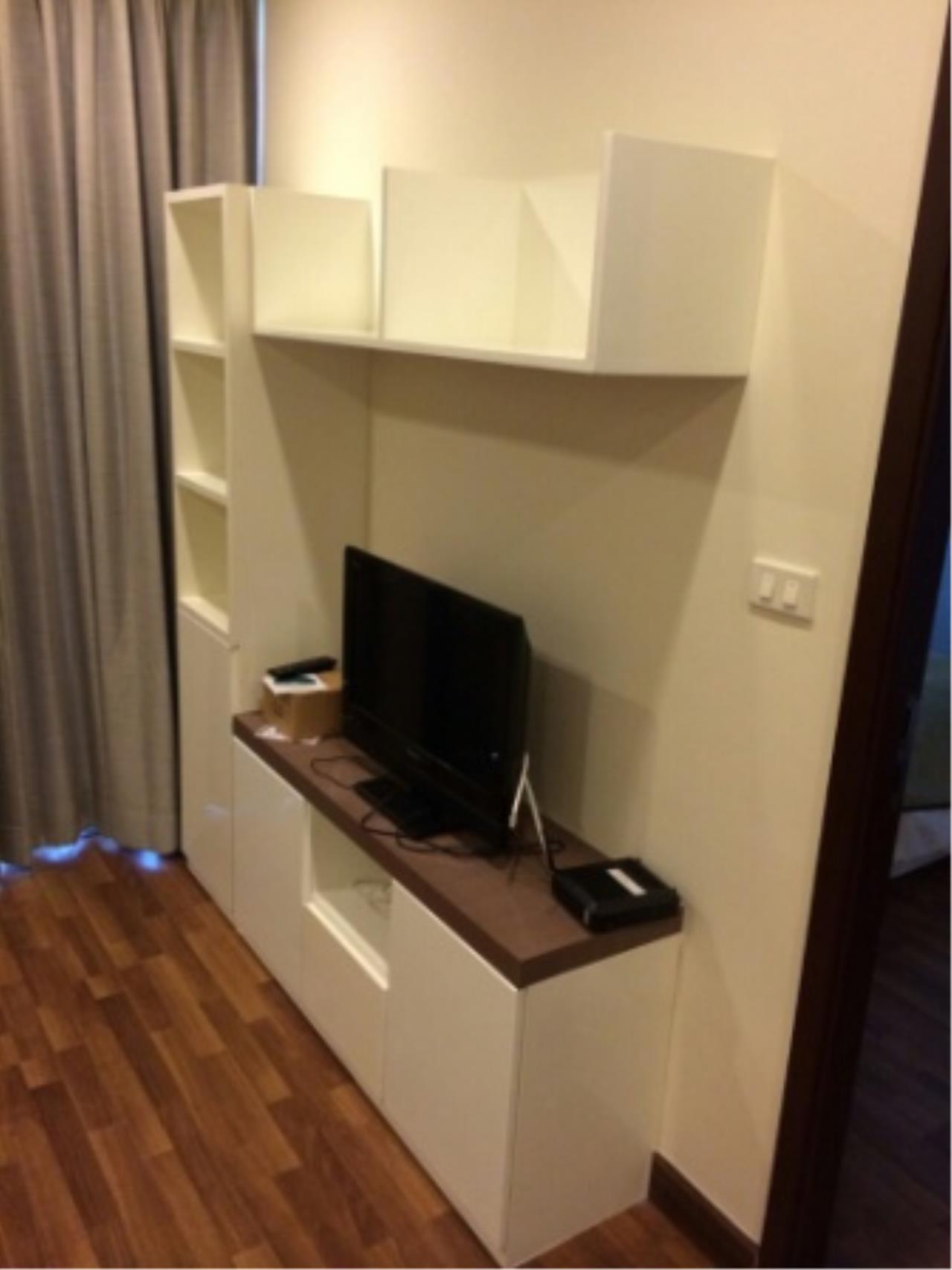 BKK Condos Agency's One bedroom condo for rent at Le Luk Condominuim 12