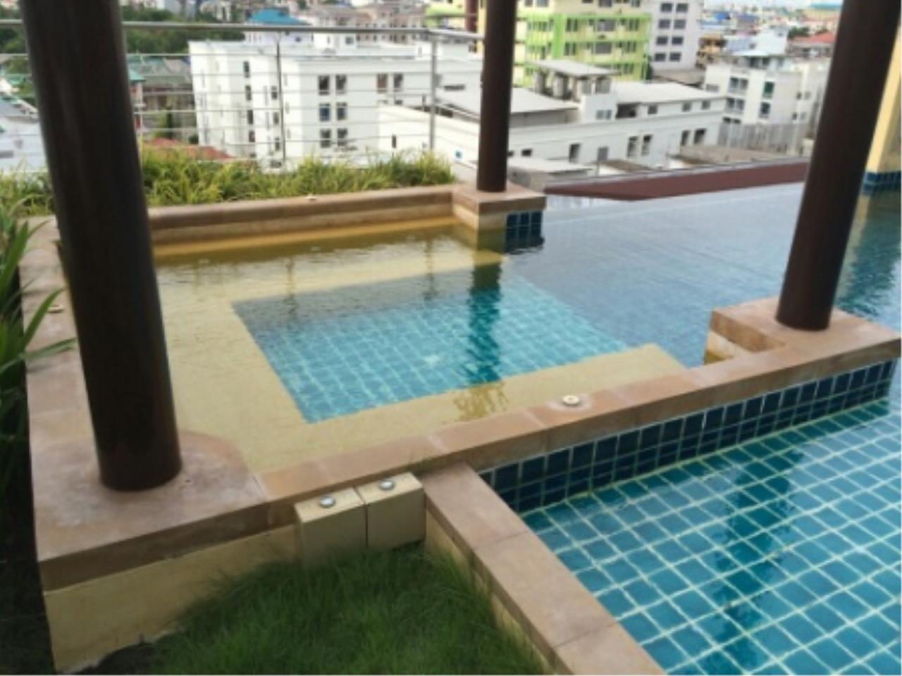 BKK Condos Agency's One bedroom condo for rent at Le Luk Condominuim 10