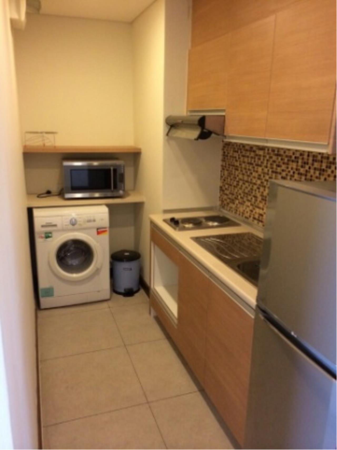 BKK Condos Agency's One bedroom condo for rent at Le Luk Condominuim 2