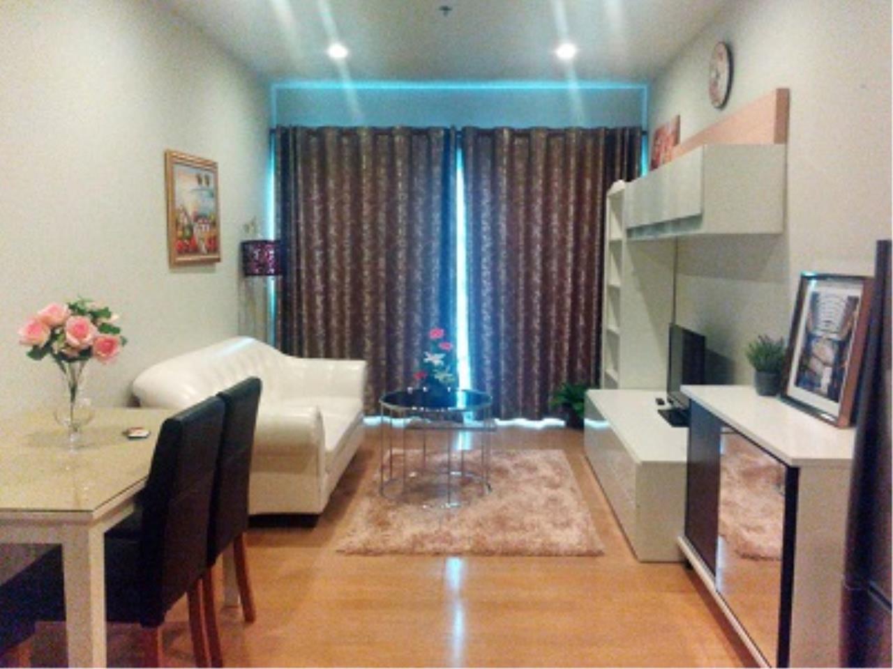 BKK Condos Agency's One bedroom condo for rent at Noble Refine  10