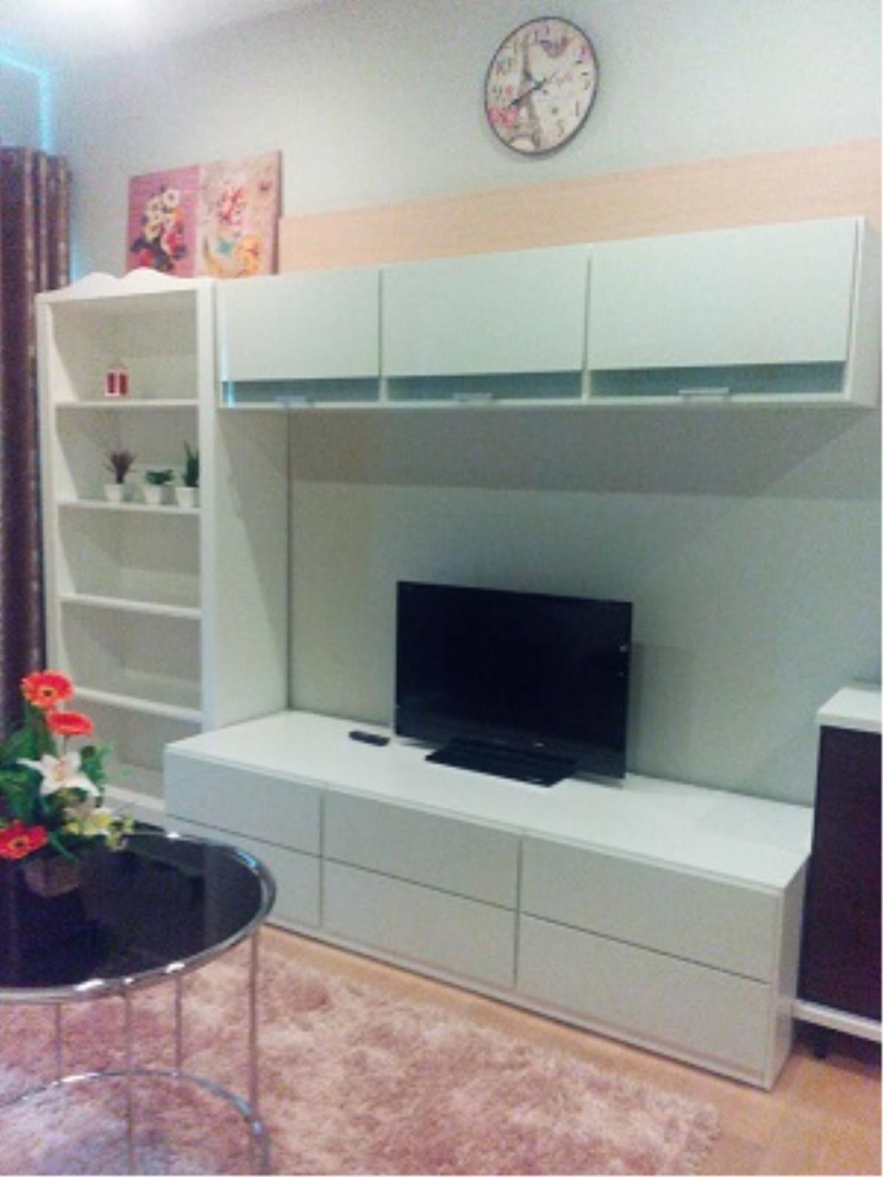 BKK Condos Agency's One bedroom condo for rent at Noble Refine  7