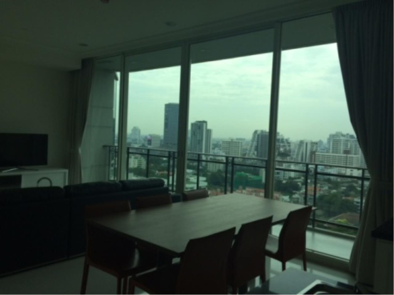BKK Condos Agency's Luxury two bedroom condo for rent at Royce Residence  13