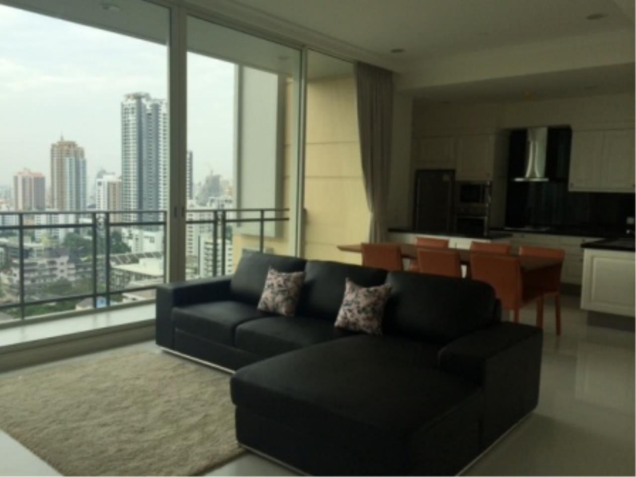 BKK Condos Agency's Luxury two bedroom condo for rent at Royce Residence  12