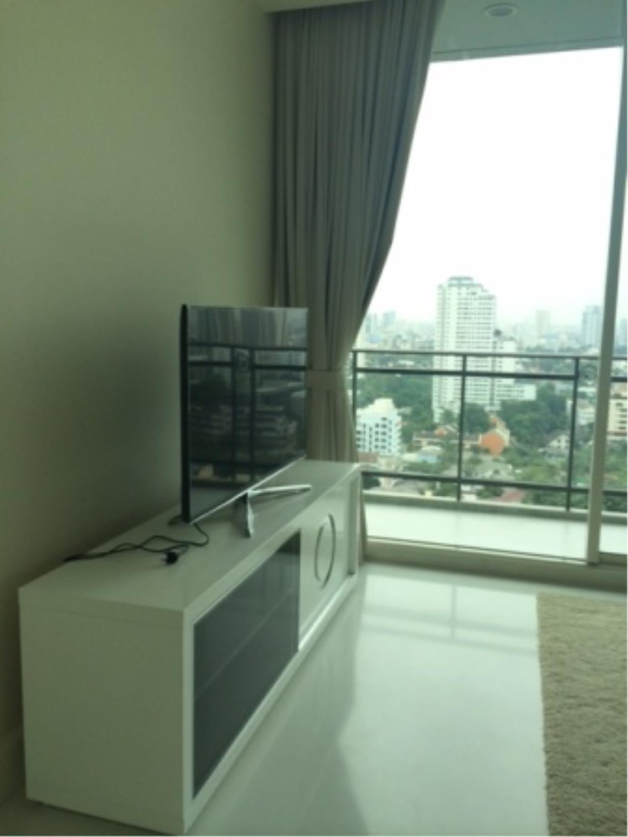 BKK Condos Agency's Luxury two bedroom condo for rent at Royce Residence  8