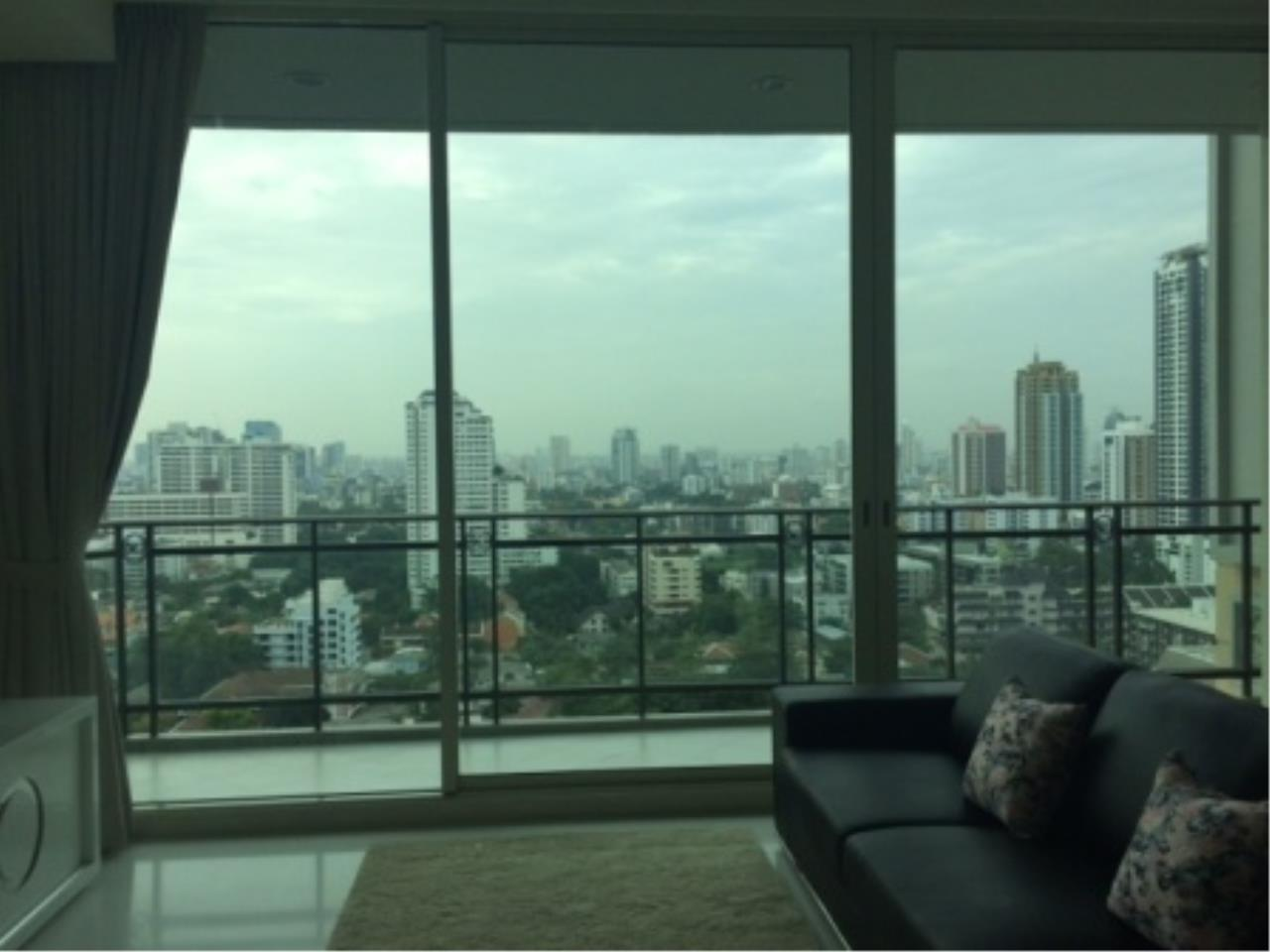 BKK Condos Agency's Luxury two bedroom condo for rent at Royce Residence  7