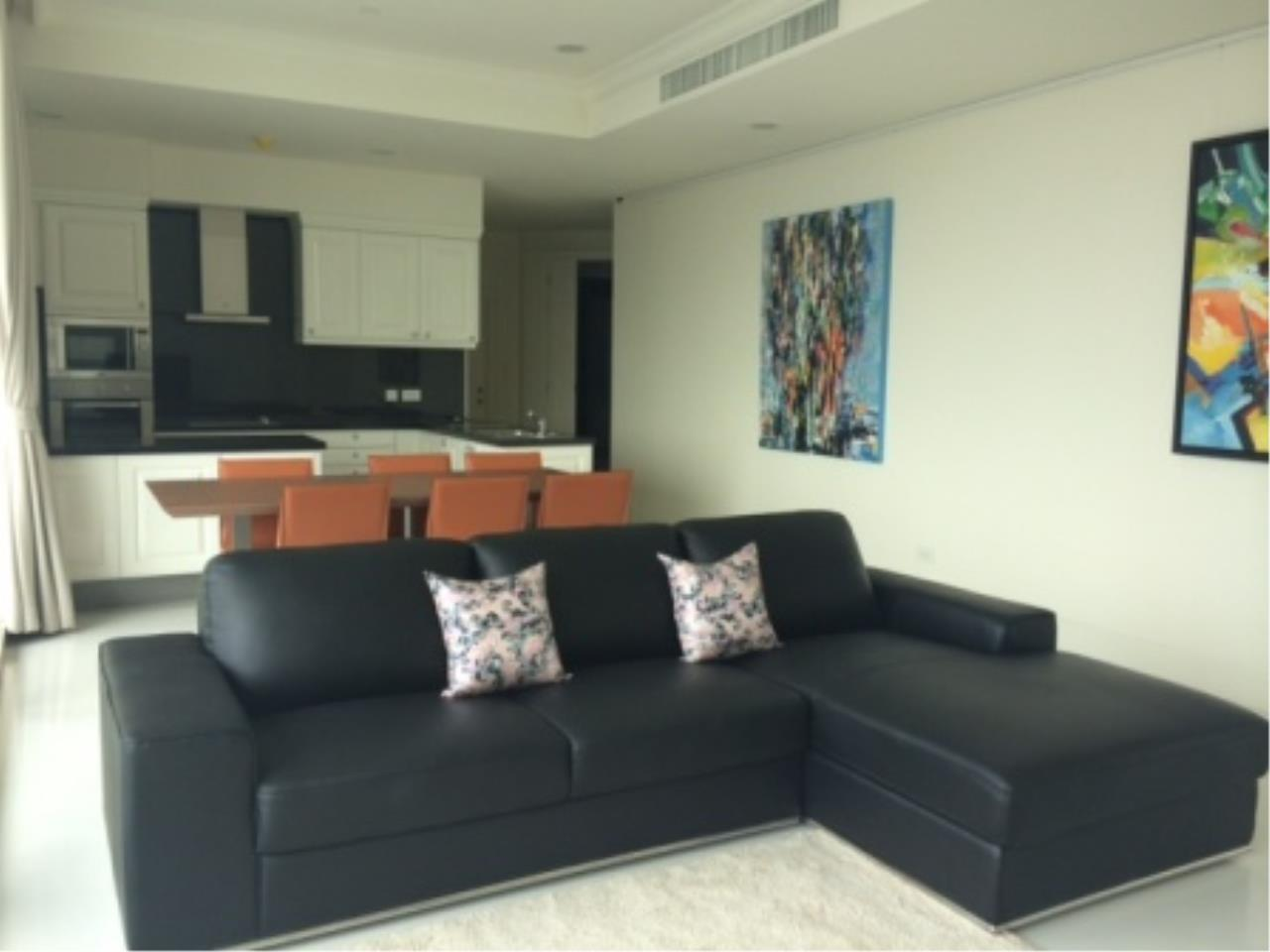 BKK Condos Agency's Luxury two bedroom condo for rent at Royce Residence  3