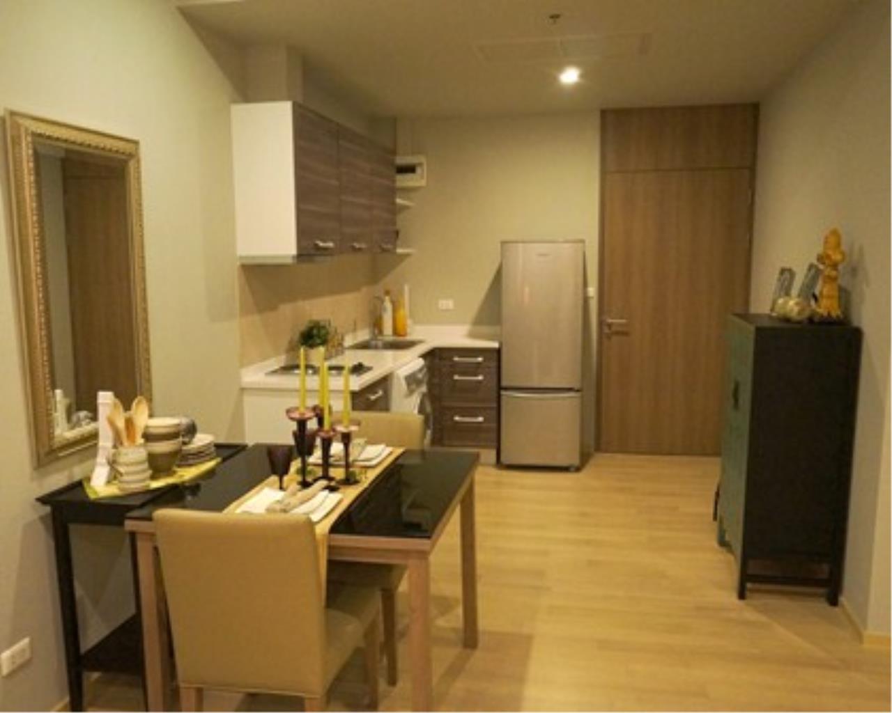 BKK Condos Agency's Nice one bedroom condo for rent Noble Refine 3
