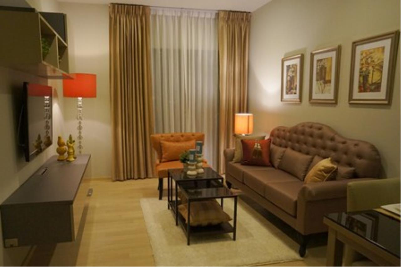 BKK Condos Agency's Nice one bedroom condo for rent Noble Refine 2