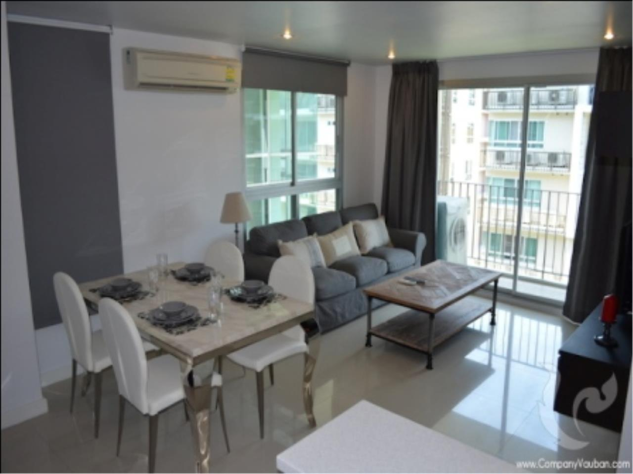 BKK Condos Agency's Nice design 2 bedroom condo for rent at The Clover Thong Lo 18  5