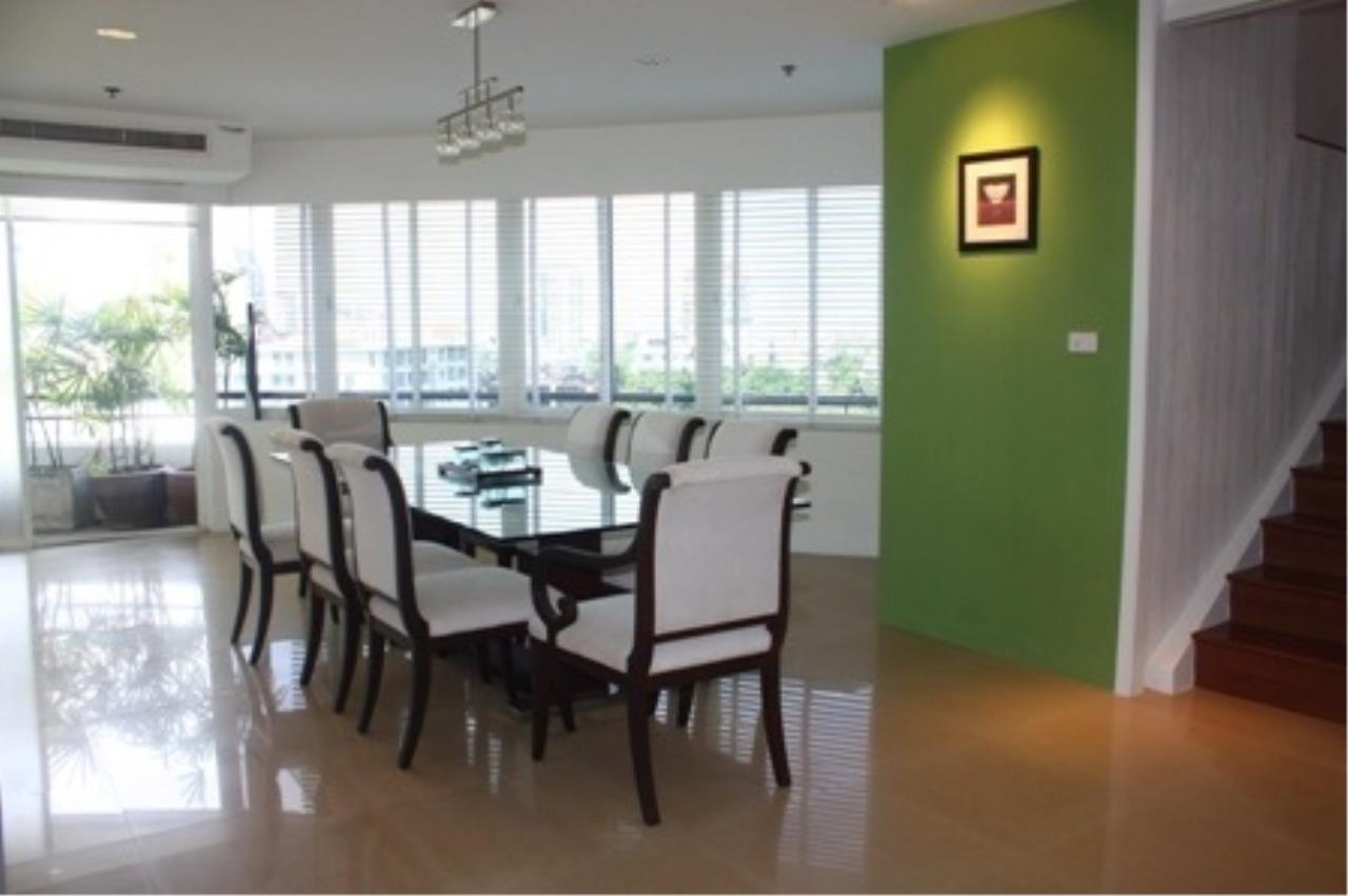 BKK Condos Agency's Duplex 3 bedroom for sale at Moon Tower 13