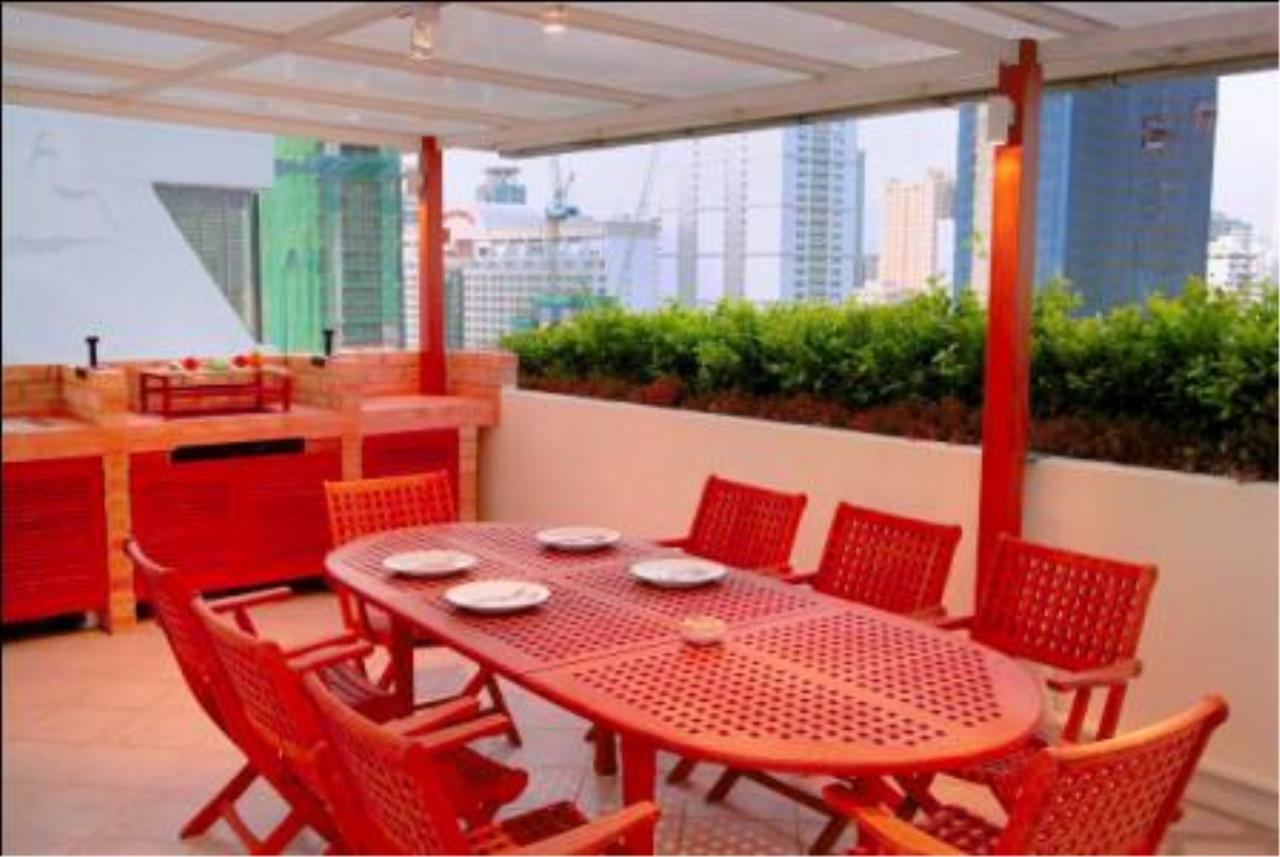 BKK Condos Agency's 2 bedroom penthouse for sale with tenant at Heritage Condo 9