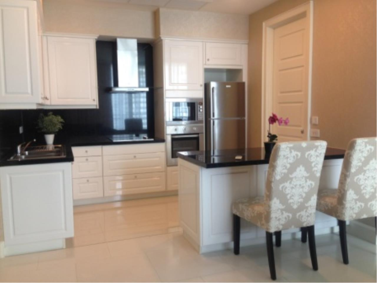 BKK Condos Agency's 3 bedroom condo for rent at The Royce Residence 6