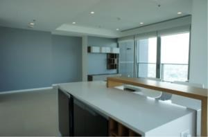 BKK Condos Agency's Two bedroom condo for rent at The River   High floor  1