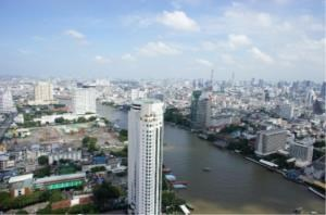 BKK Condos Agency's Two bedroom condo for rent at The River   High floor  2
