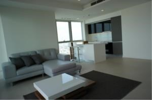 BKK Condos Agency's Two bedroom condo for rent at The River   High floor  3