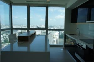 BKK Condos Agency's Two bedroom condo for rent at The River   High floor  4