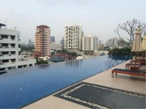 BKK Condos Agency's 2 bedroom condo for rent at Siri On 8  17