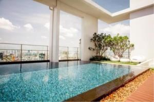 BKK Condos Agency's 1 bedroom condo for rent at Rhythm Sathorn   Narathiwas   9