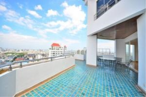 BKK Condos Agency's 5 bedroom penthouse for sale and for rent at Saichol Mansion 6