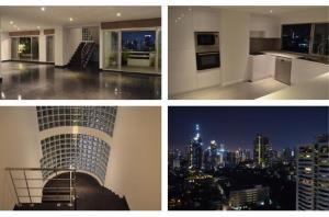 BKK Condos Agency's 3 bedroom deplex penthouse for rent near EmQuartier 2